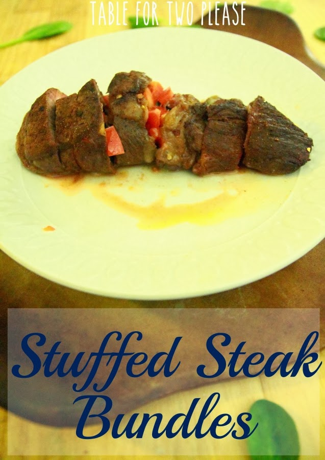 Stuffed Steak Bundles | Table for Two, please?