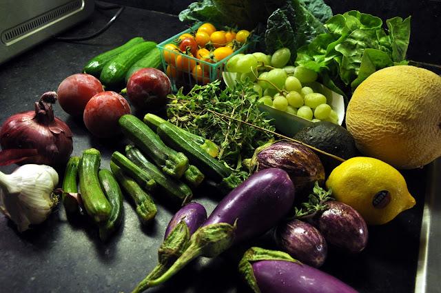 summerland organic produce box