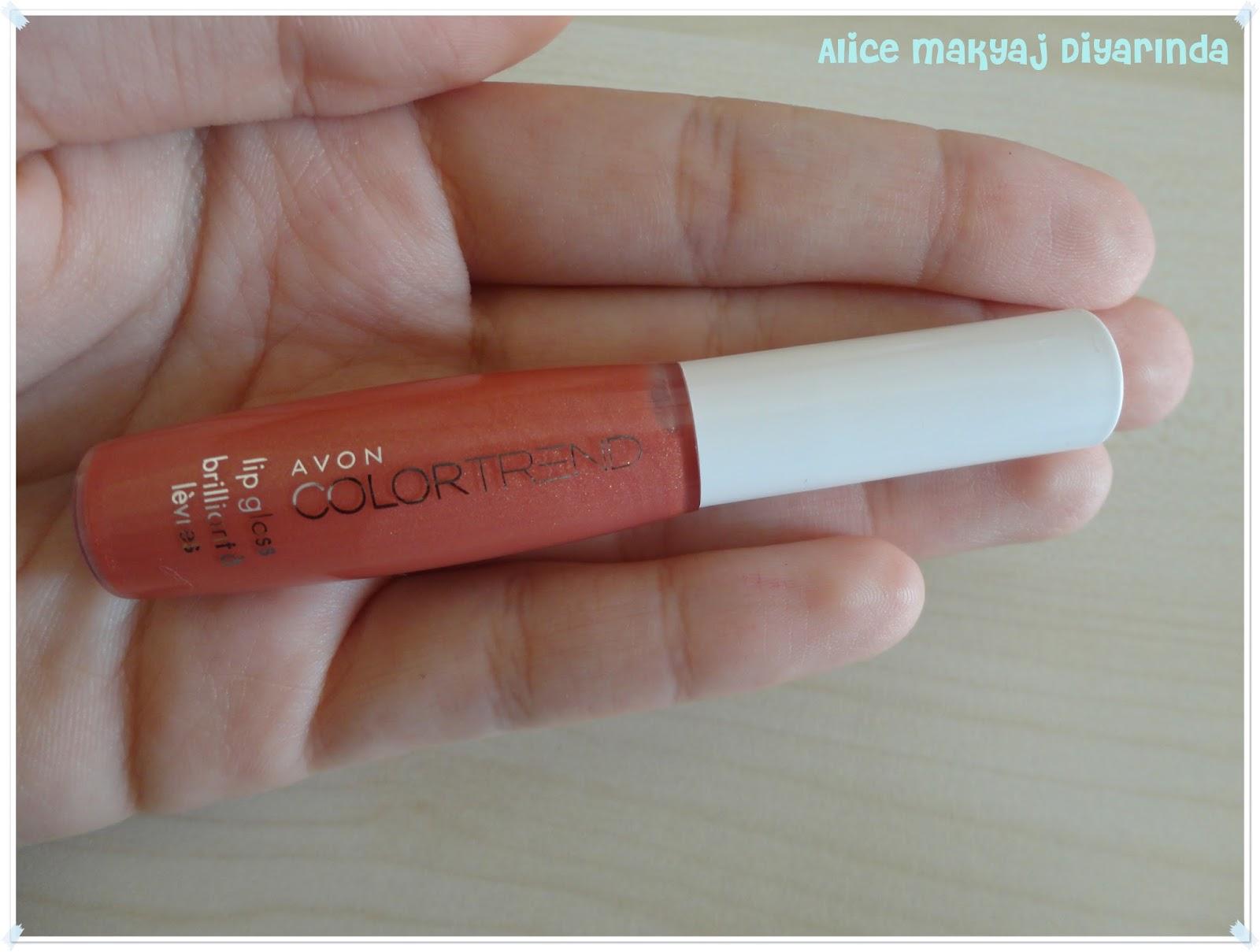 Avon Colortrend Dudak Parlatıcısı- Sunset