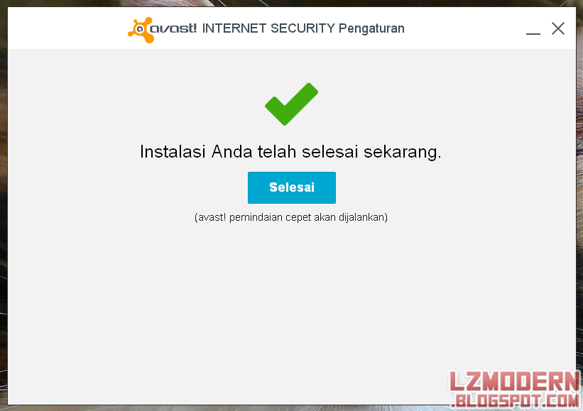 Cara Aktivasi Avast! 2014 Internet Security