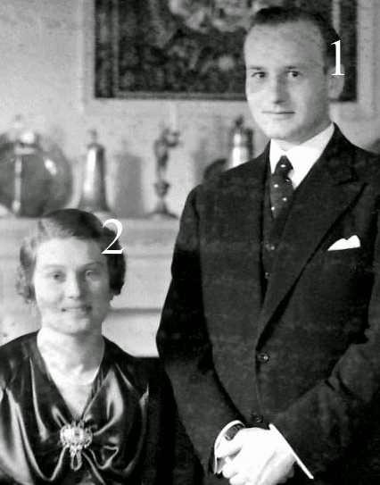 Wolff-Heinrich et Irma zu Stolberg-Stolberg
