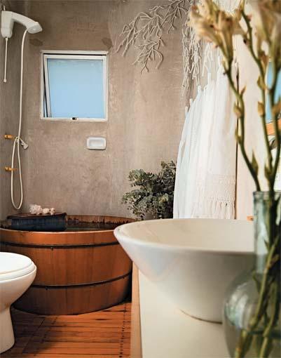 Arquitetura à mão! Banheiros e Suítes -> Banheiro Pequeno Ofuro