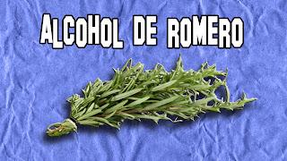 Alcohol de Romero