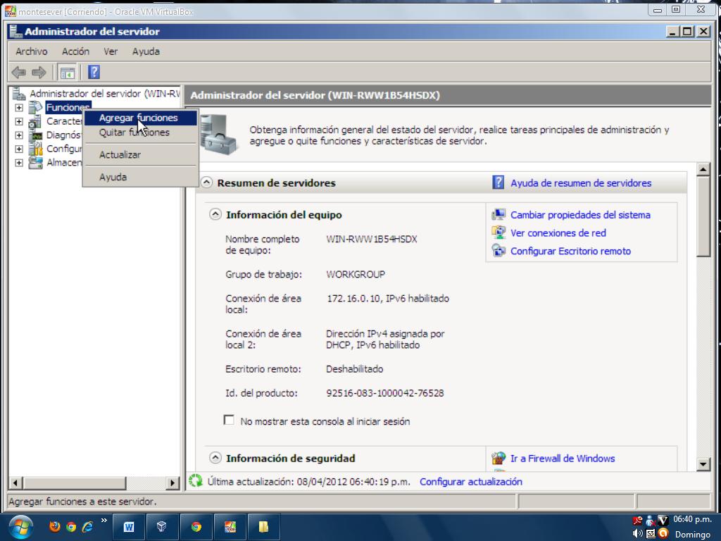 ADMINISTRACION DE REDES SENA-230487: SERVIDOR WEB