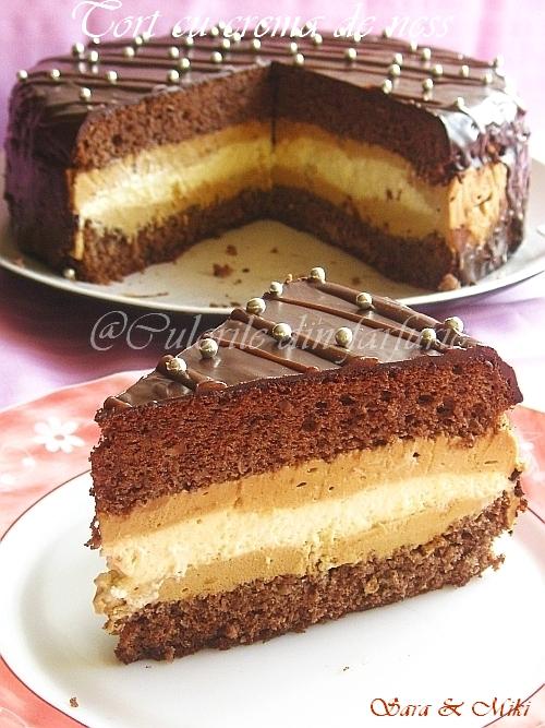 Mac Cafe Cake Chocolat Vanille