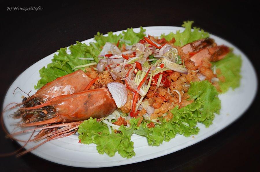 mango salad crispy fish and green mango salad recipe dishmaps hong ...