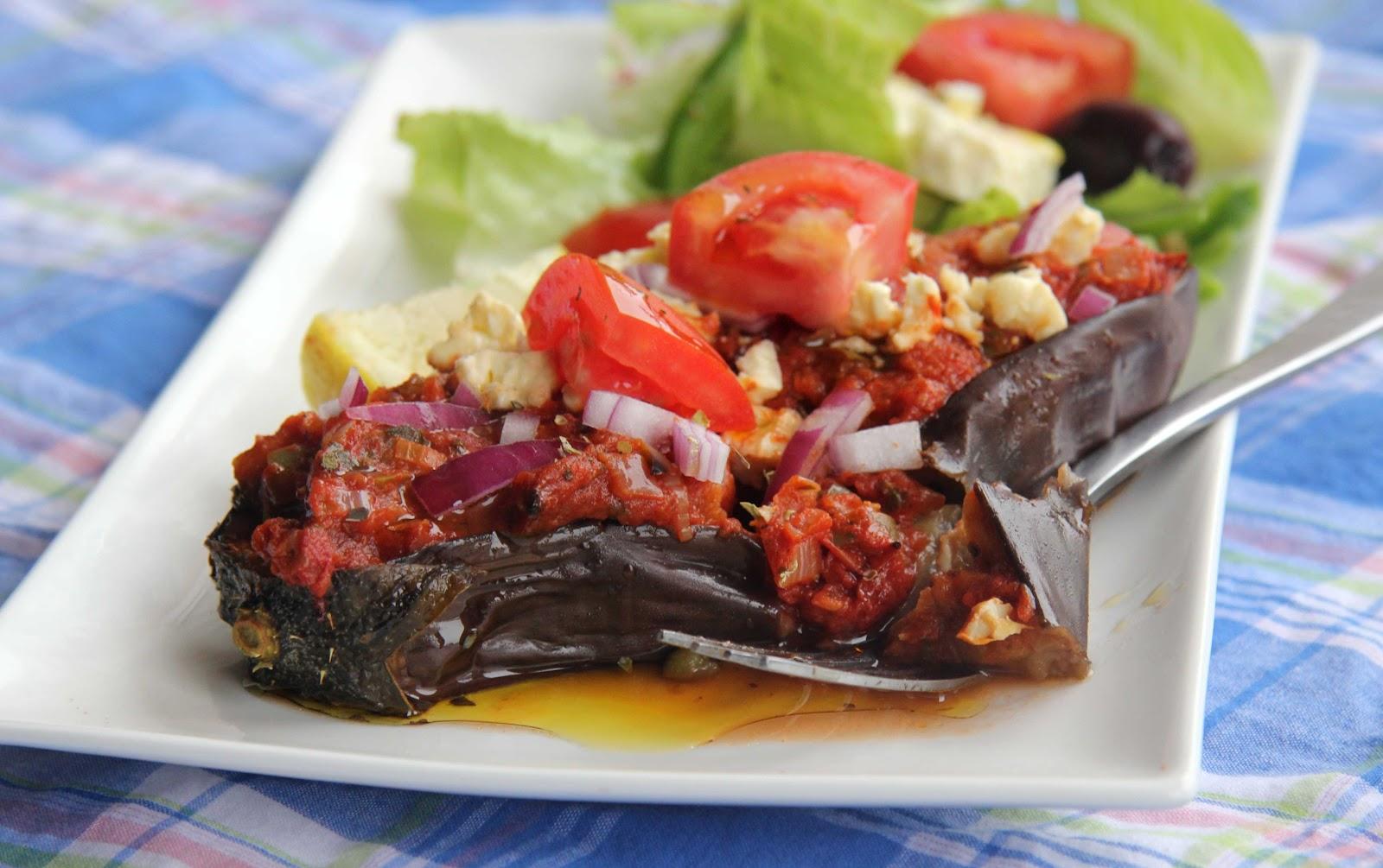 Talis tomatoes greek baked eggplant greek baked eggplant forumfinder Image collections