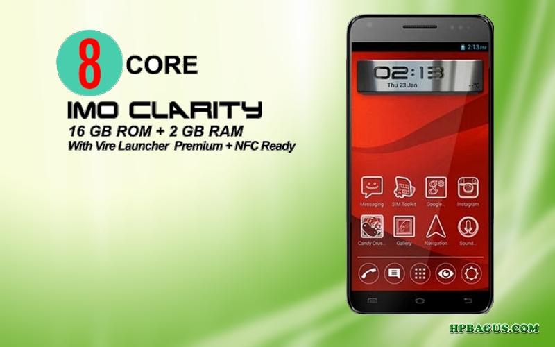 Spesifikasi dan Harga IMO Clarity Android Smartphone