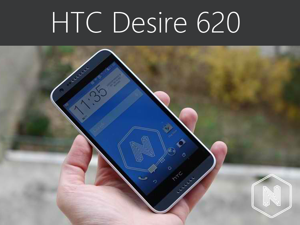 HTC Desire 620: Mid-range Quad-core Smartphone With Dual Front-Facing Speakers