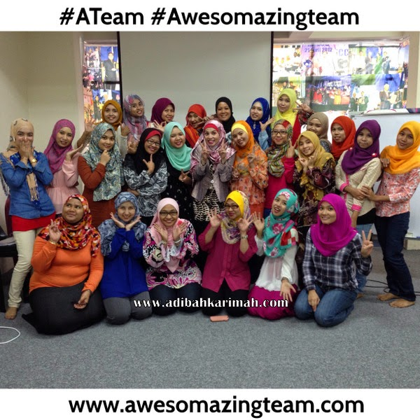 Awesomazing Team Class di Batu Caves sesi bergambar