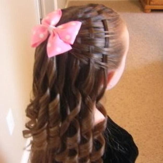 Peinado para niñas Curso #1 (trenza postiza) YouTube - Cursos De Peinados Para Niña