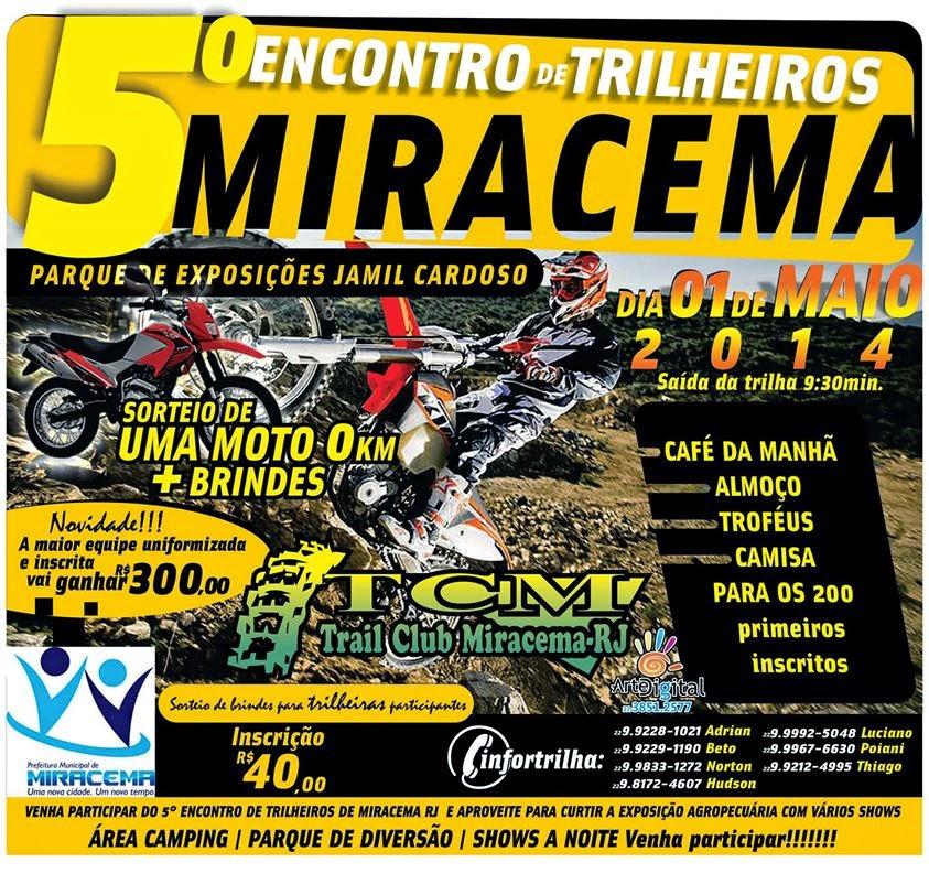 VEJA COMO FOI O 5º ENCONTRO DE TRILHEIROS DE MIRACEMA - RJ