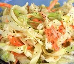 Salată de varză albă cu susan