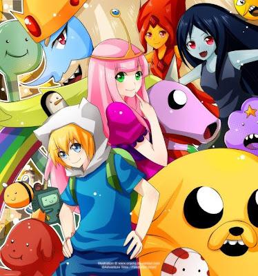 Hora de aventura versin anime hora de aventura adventure time si te gusta el anime y hora de aventura que te parecen estas imgenes altavistaventures Image collections