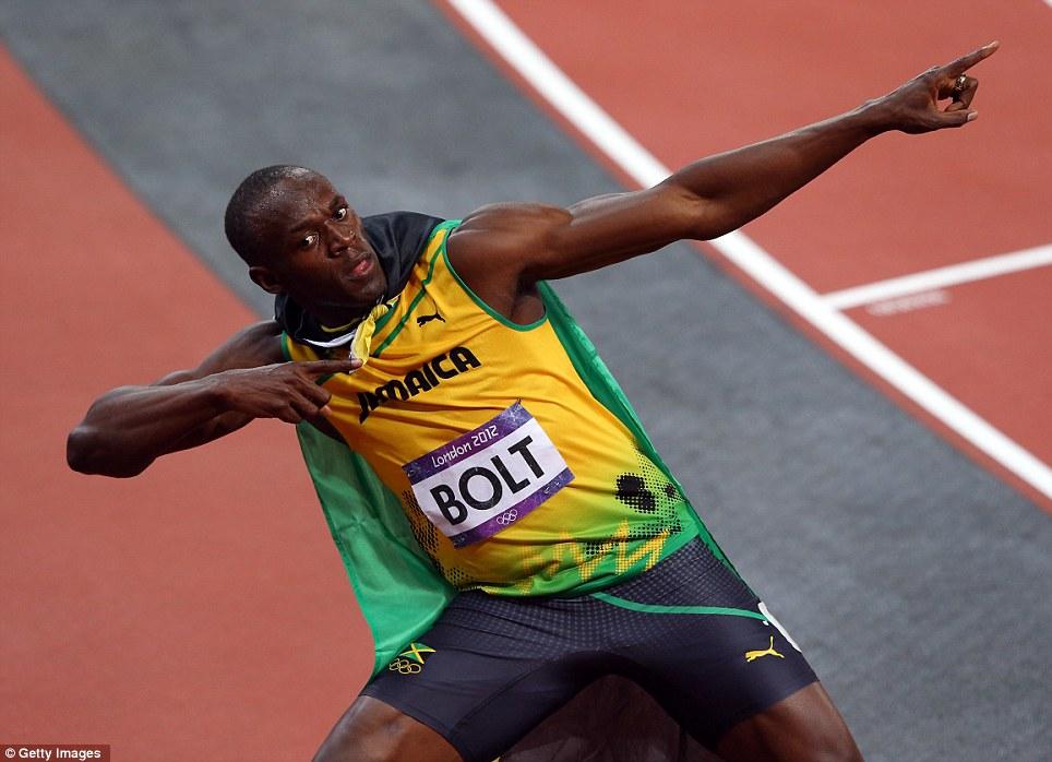 Usain Bolt Abs Workout Machine squat