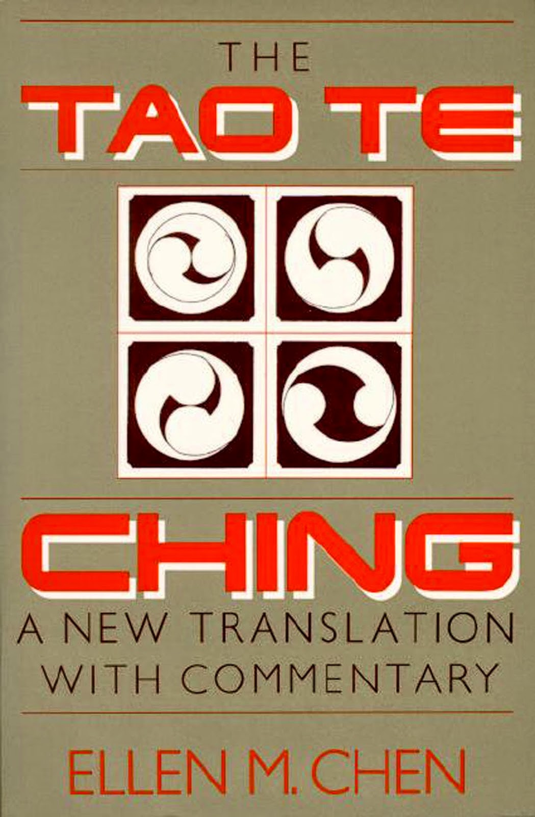 bonnie s books  the tao te ching a new translation commentary by ellen m chen 1989