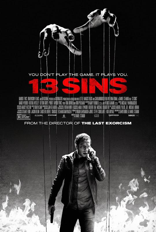 ตัวอย่างหนังใหม่ : 13 Sins (เกม13 เล่น ไม่ รอด) ซับไทย poster