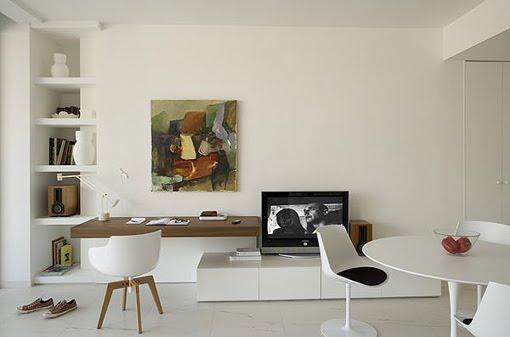 Classy Modern French Interior Modern Design By