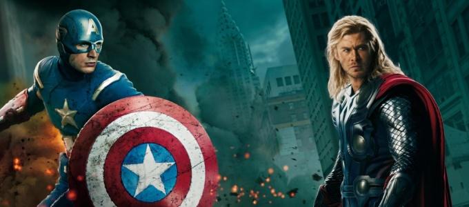 Мстители, Thor, Тор, Локи, Капитан Америка, Железный человек (Iron Man)  America
