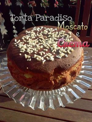 torta paradiso al moscato e crema