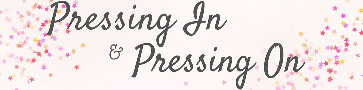 Pressing In and Pressing On with Starla J.