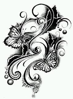 Tatoos y Tatuajes de Mariposas, parte 8