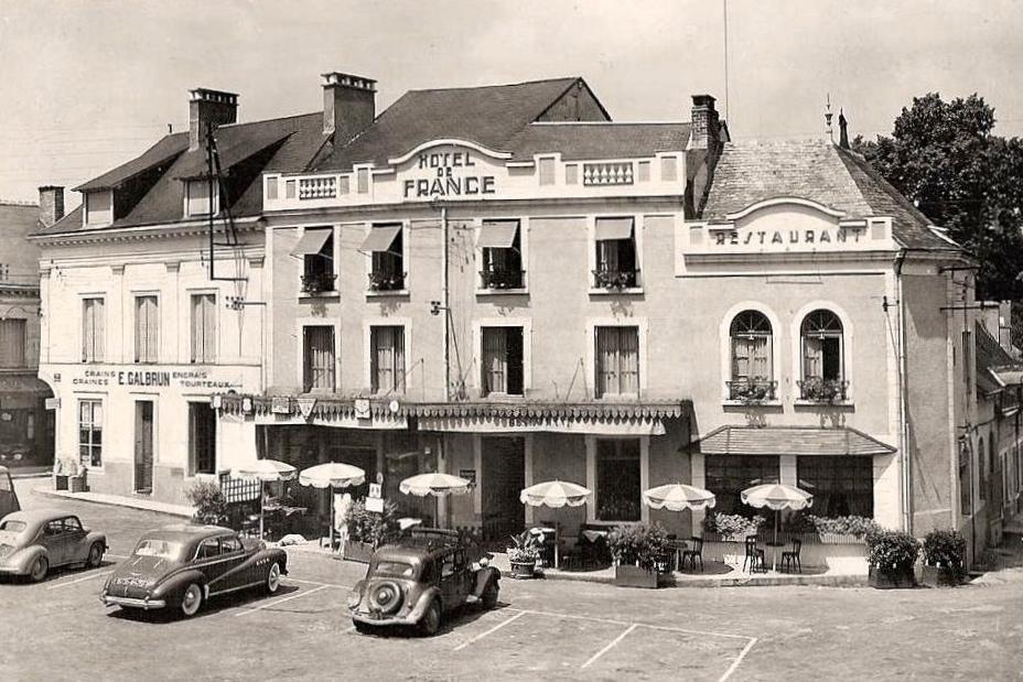 Pilotes anciens hotel de france la chartre sur le loir - La chatre sur le loir ...