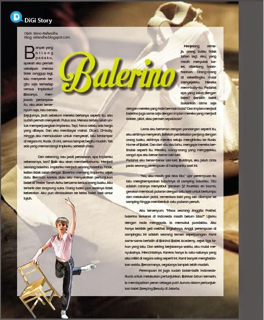[Cerpen] Balerino