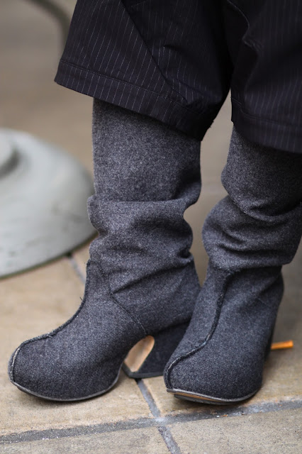 john fluevog felted boot