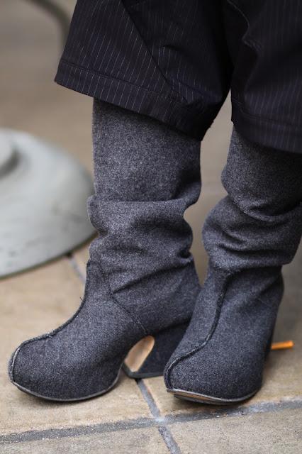 john fluevog felted boot