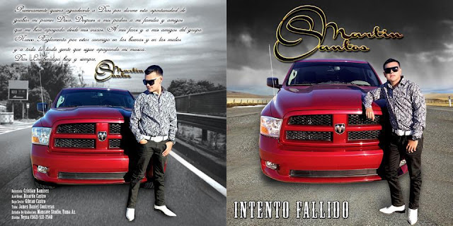 Martin Santos - Intento Fallido CD Album 2013