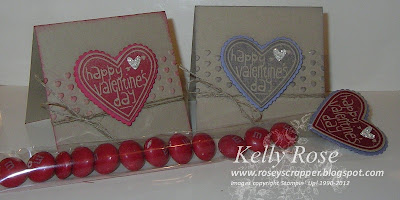 Valentine Treat and cards