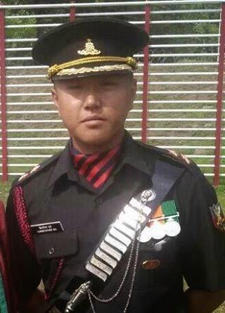 Lieutenant Christopher Rai Gorkha son makes Community Proud