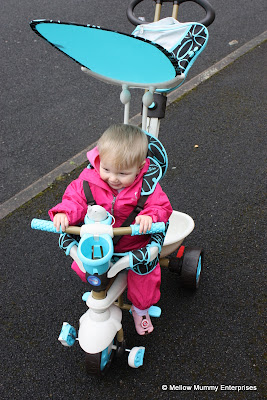 Our first outing in the Smart Trike Dream