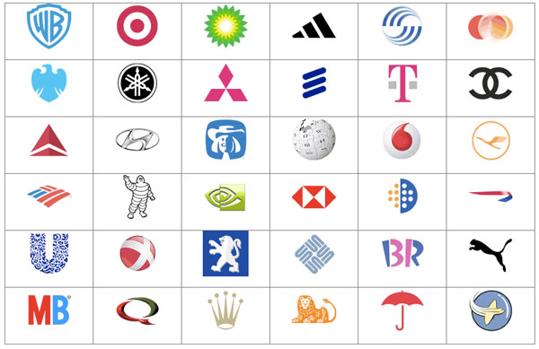Company Logos and Names