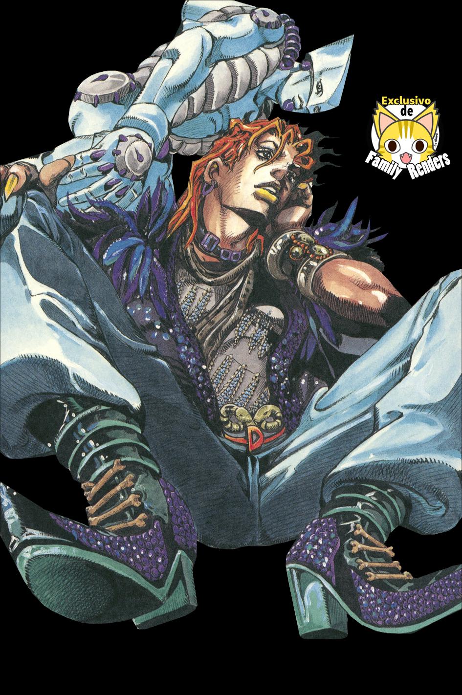 Render JoJo's Bizarre Adventure + Dio