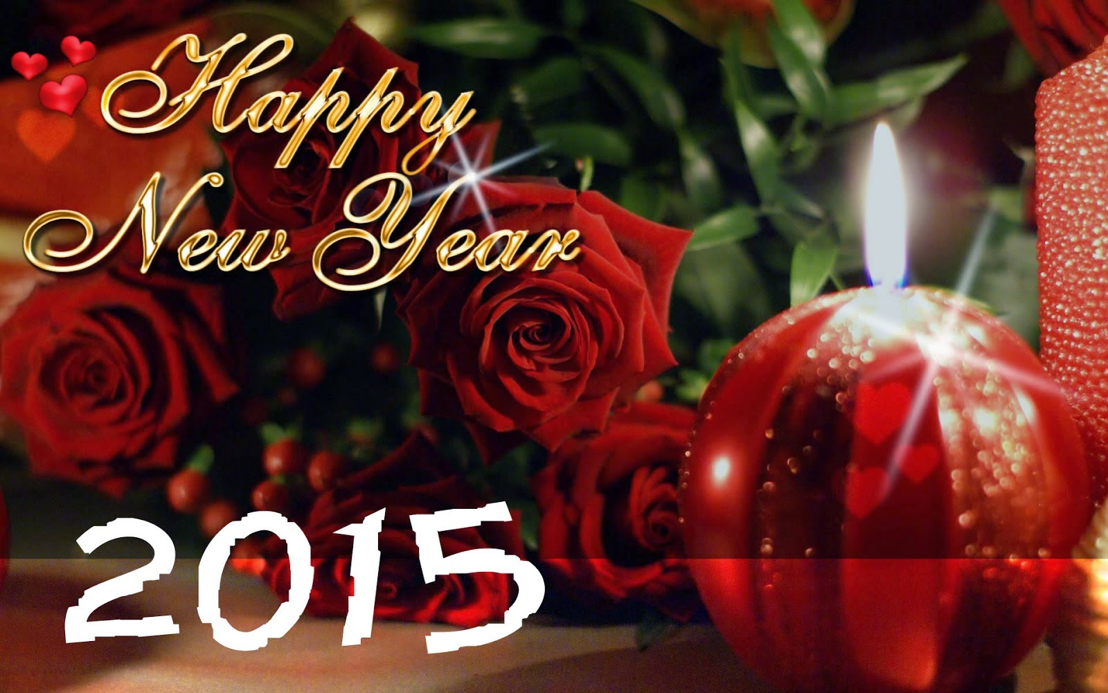Happy New Year 2015 Wallpaper Love
