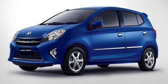 Warna Astra Toyota Agya - Blue Metallic