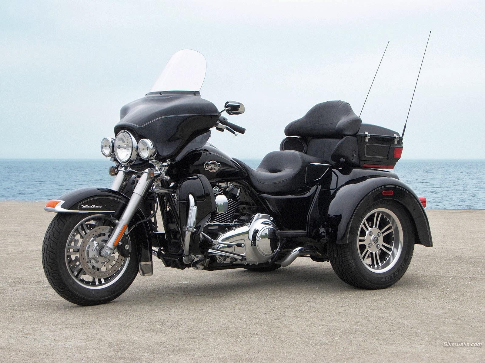Harley Davidson TRI Glide - Harley Davidson Motor