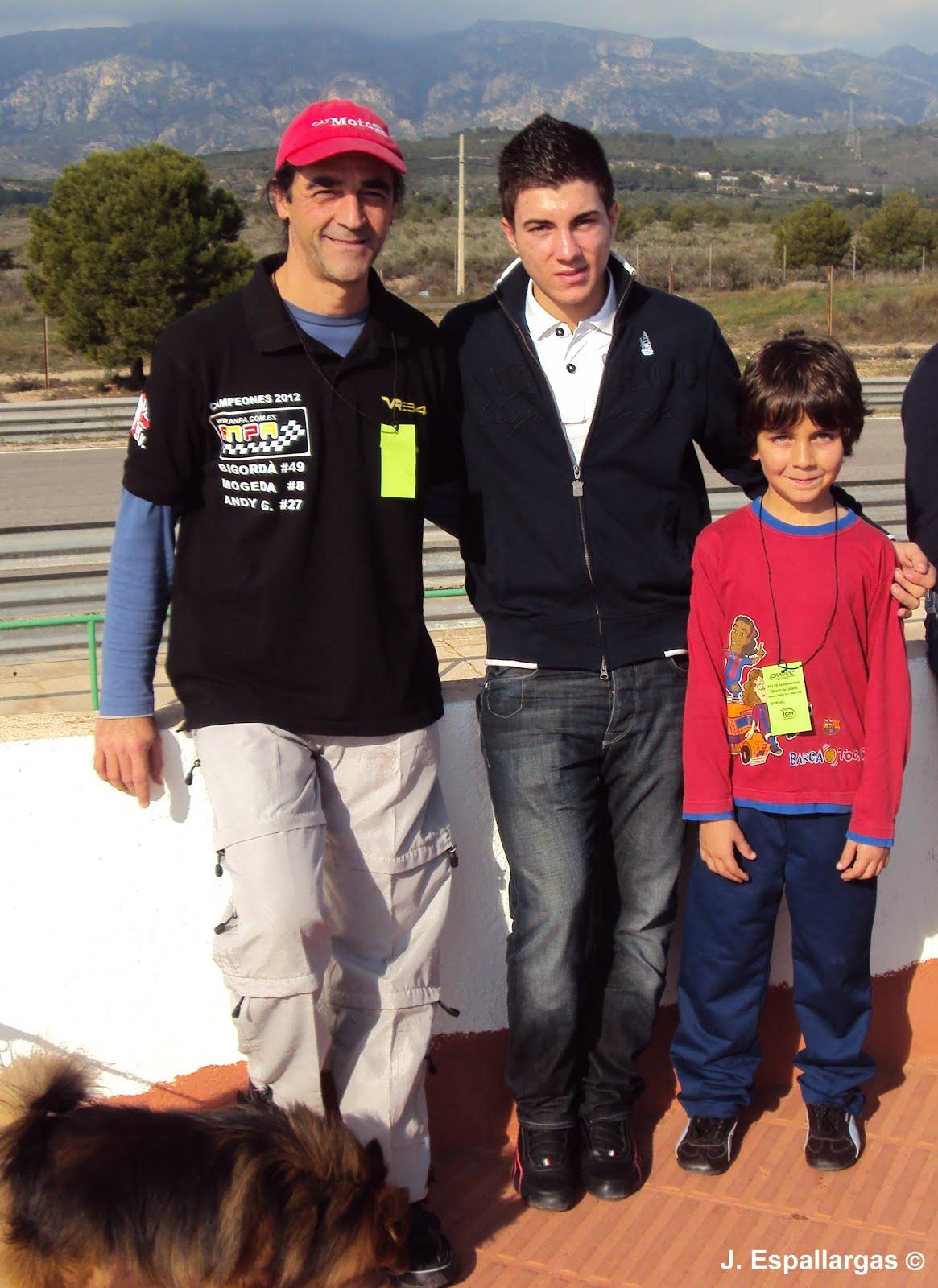 Con Maverick Viñales