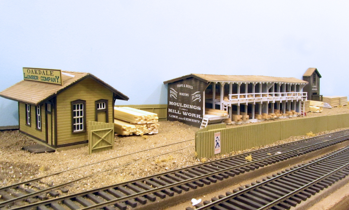 O Scale Mt Albert Models 05 Lumber Yard Built Up Size 37 X 32 14 Cm Huh B4 Sfr 190 Consignment Sold Out 3 18