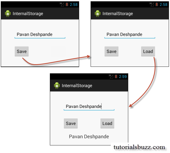 Android Internal Storage Read Write