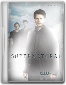 Capa Supernatural   7ª Temporada Completa   Legendado