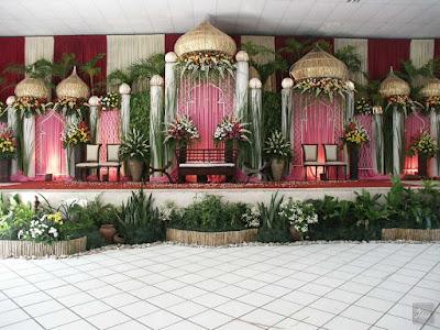 Dekorasi Pernikahan Muslimah Sederhana