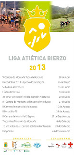 Liga atletica del Bierzo    www.mediamaratonleon.com