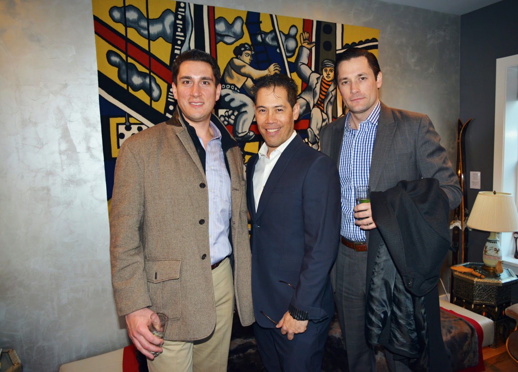 Justin Opalenski, Inson Dubois Wood, Brendan Carney with Interior design by Inson Dubois Wood LLC.