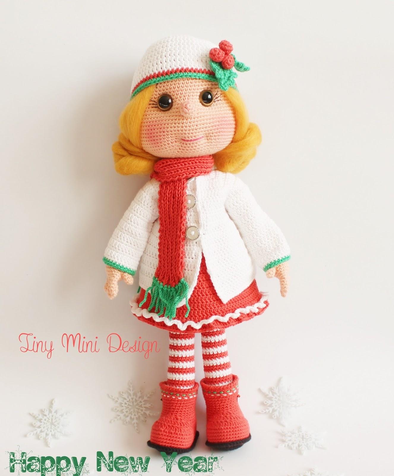 Amigurumi Small Doll : Lily Doll - Tiny Mini Design Patterns