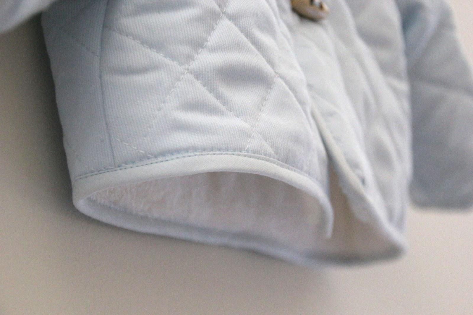 DIY Tutorial: Abrigo de bebé acolchado (patrones gratis) | | Oh ...