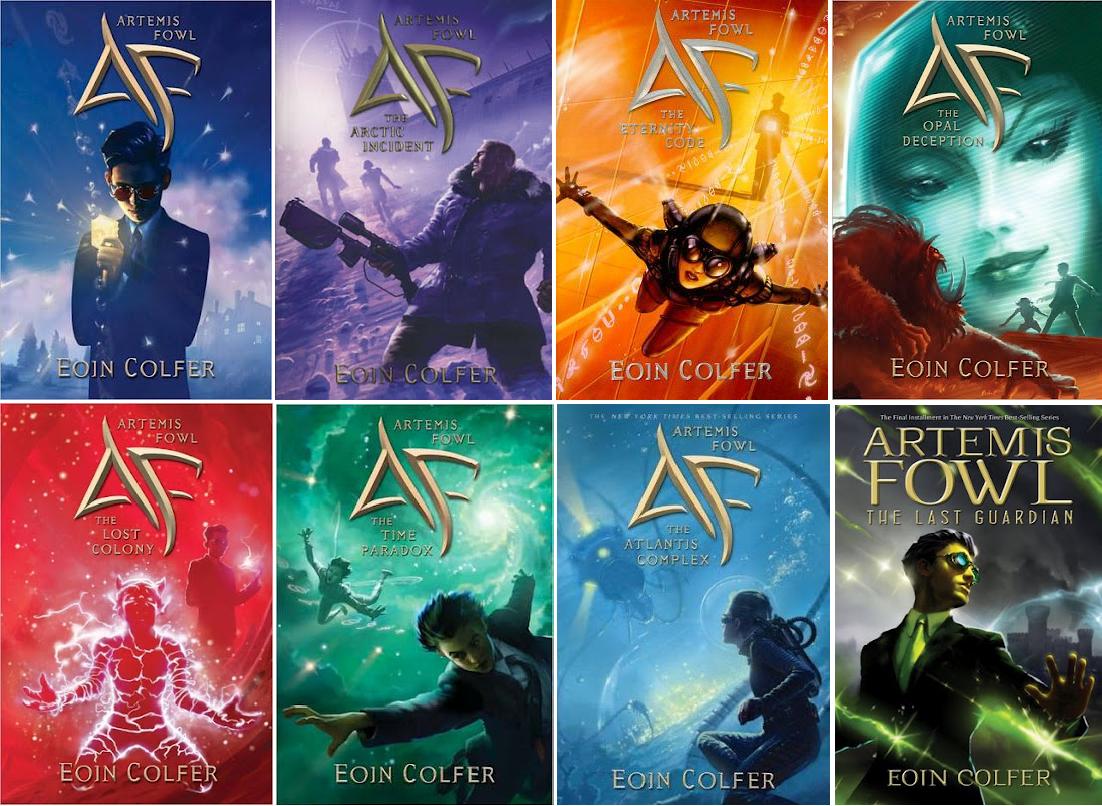 Artemis Fowl books - mes lectures de septembre