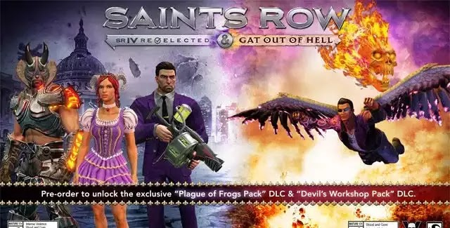 Saints Row: Gat Out of Hell Cheats on PC, PS3 & Xbox 360